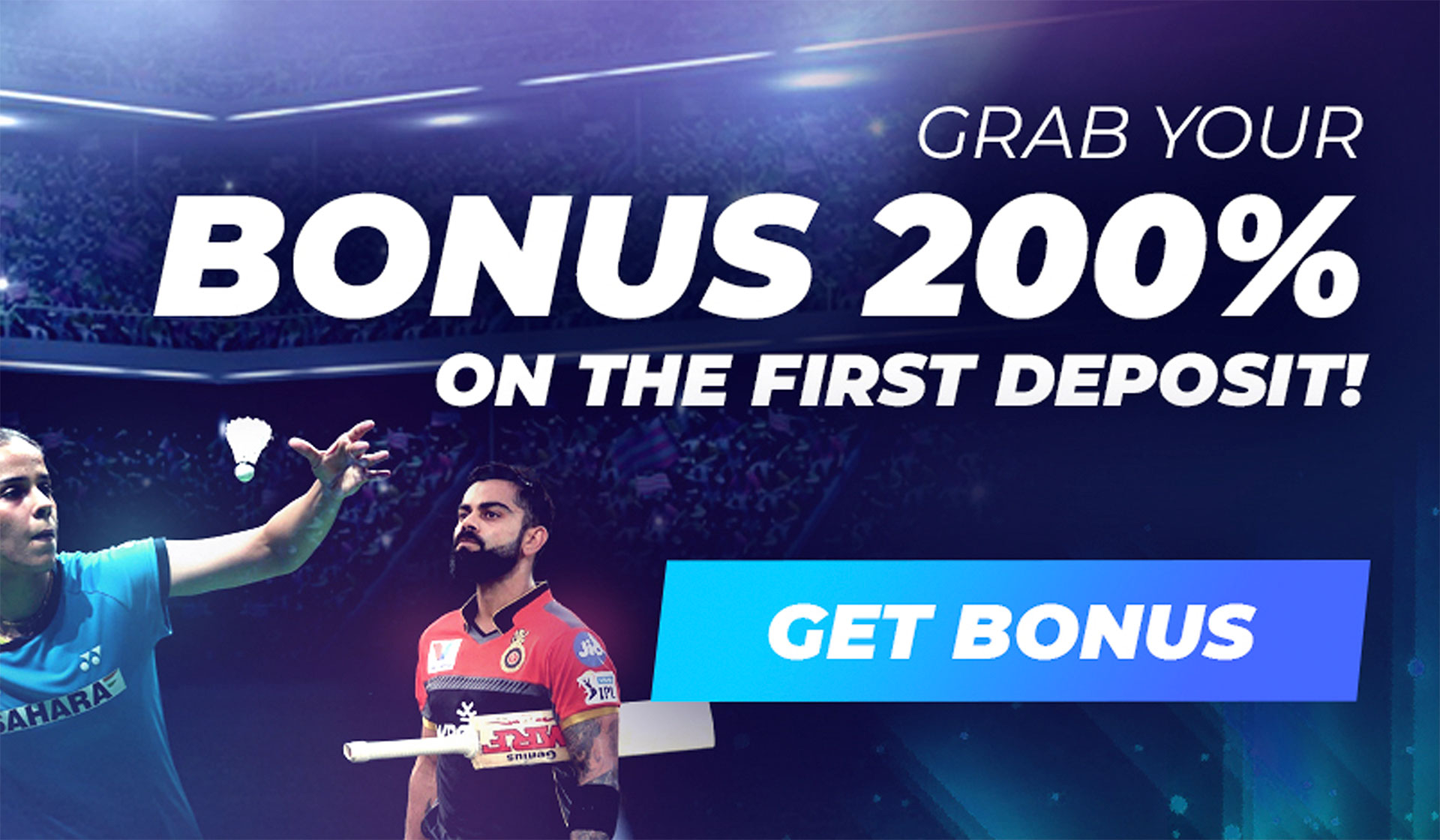 Get your welcome bonus and place even more profitable bets.
