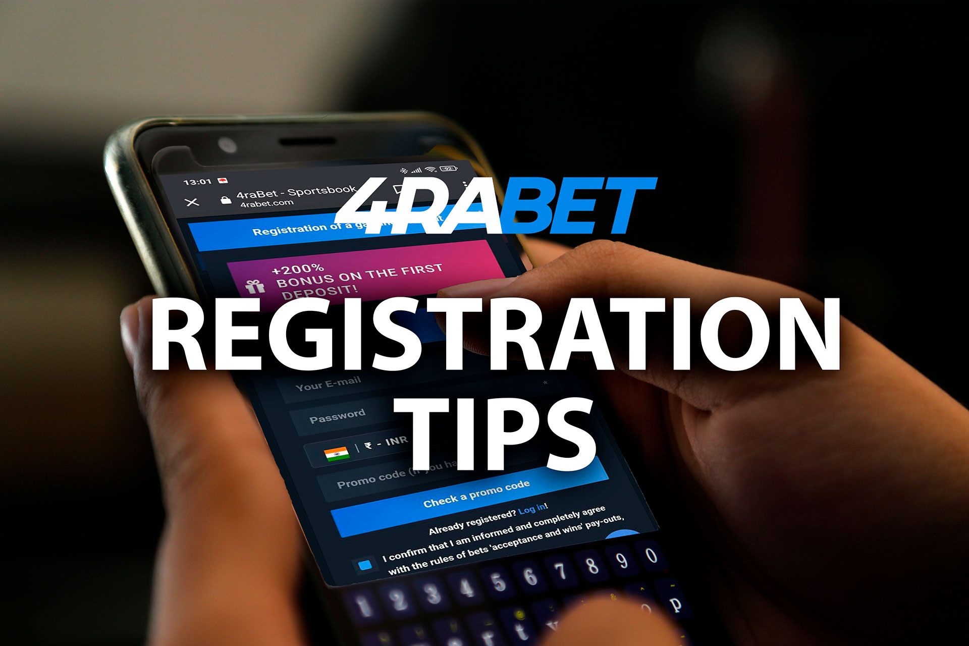 Follow our tips and you will create your account without any problems.