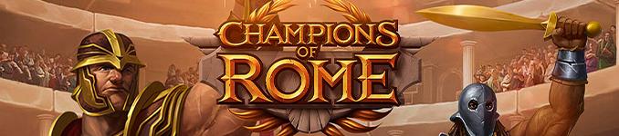 Champions of Rome slot.