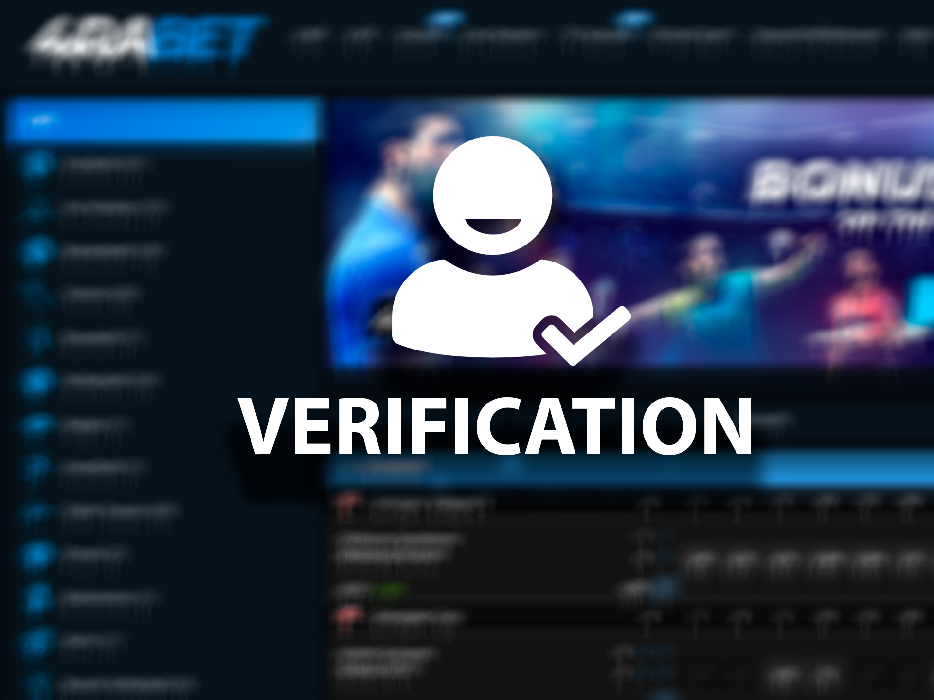Only verified players can play on money and withdraw winnings.