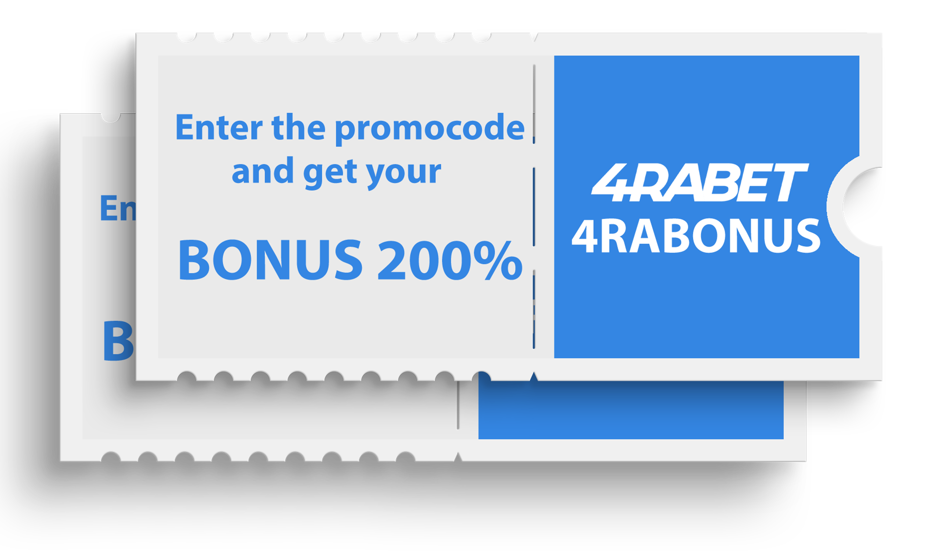 Use our promocode to get advantages after registration and depositing at 4rabet.